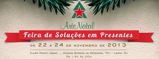 Feira Arte Natal (RJ) com sorteio de 2 ingressos