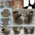 Tutorial – Sapato de bebê