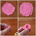 Tutorial – Mini rosa de feltro