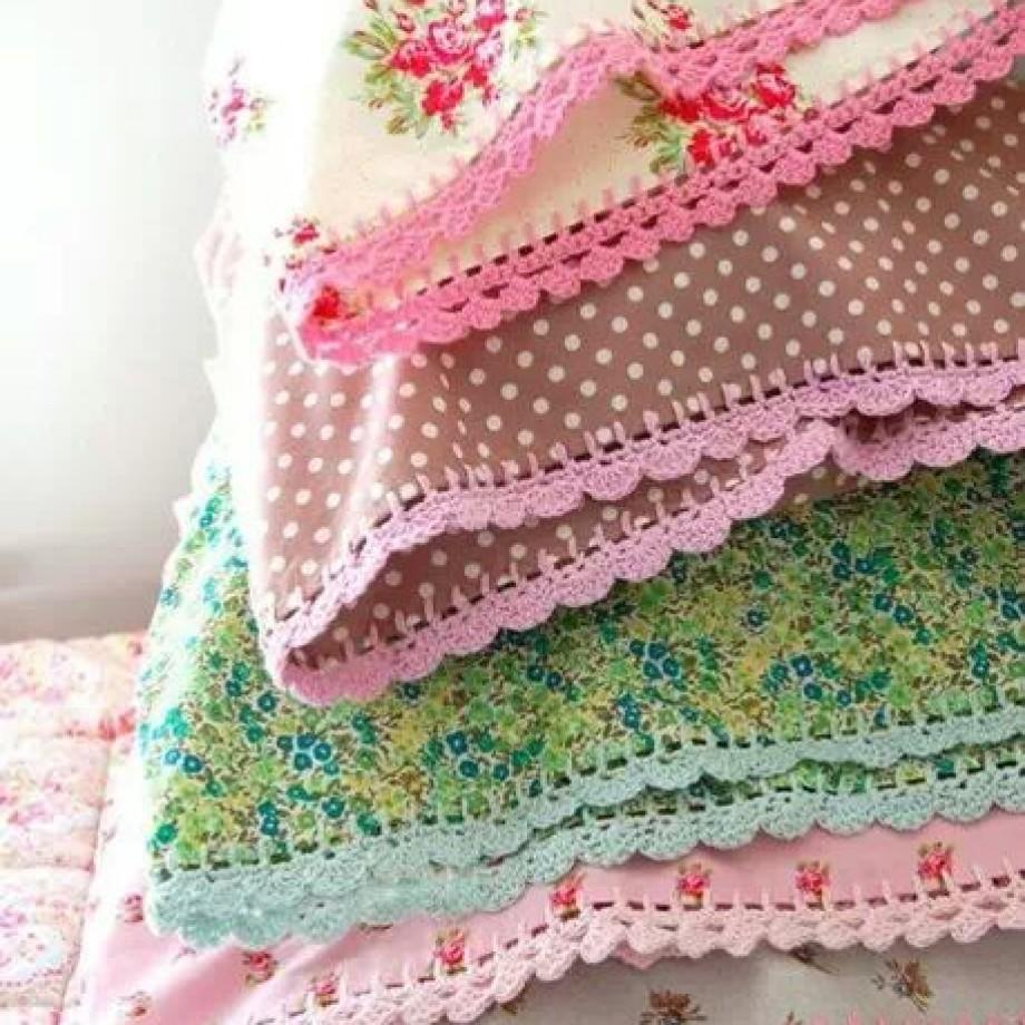 Inspiração – Fronha de crochê
