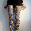 Legging de botões