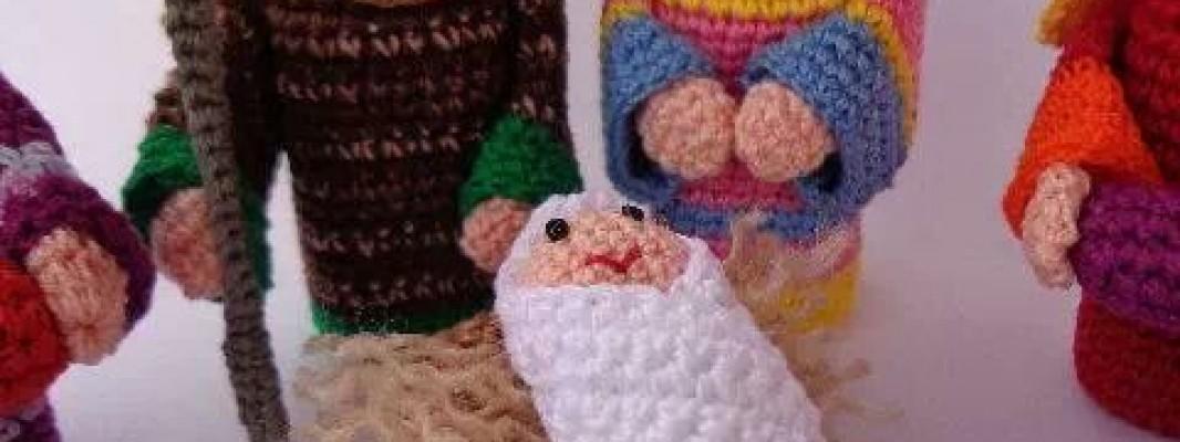 Inspiração – Presépio de crochê