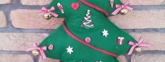 Inspiração – Árvore de Natal em feltro