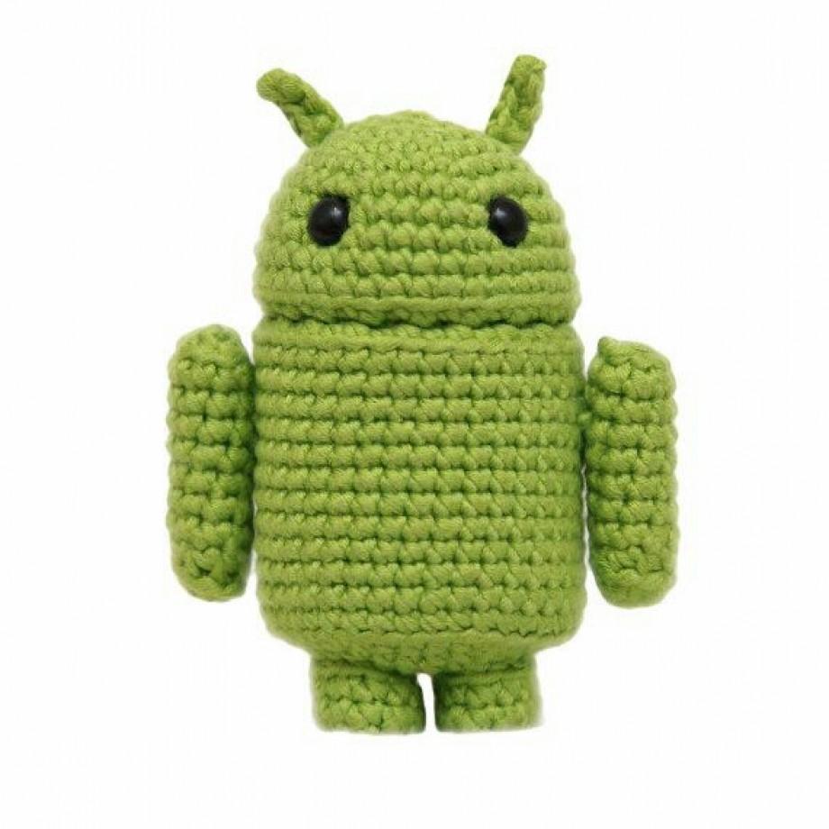Inspiração – Android de crochê