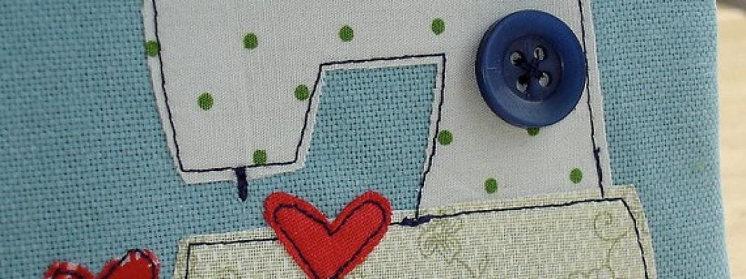 Inspiração – Aplique de máquina de costura