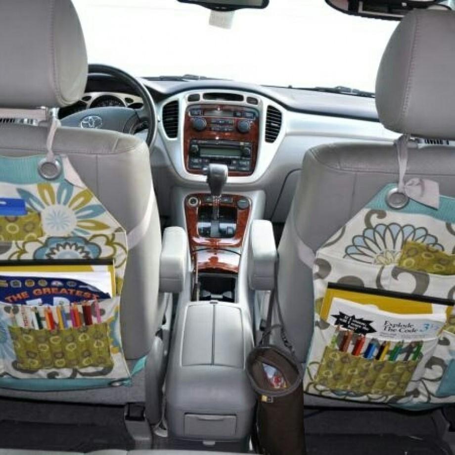 Inspiração – Organização no carro