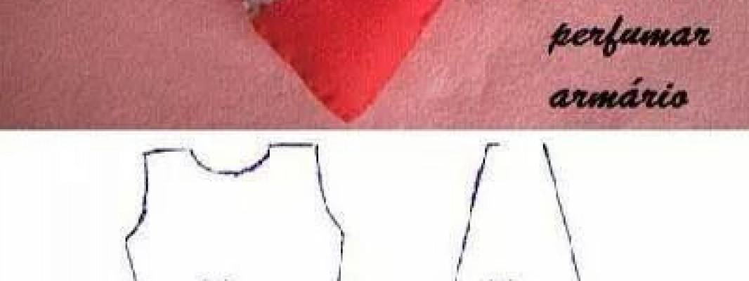 Molde – Vestido de sachê