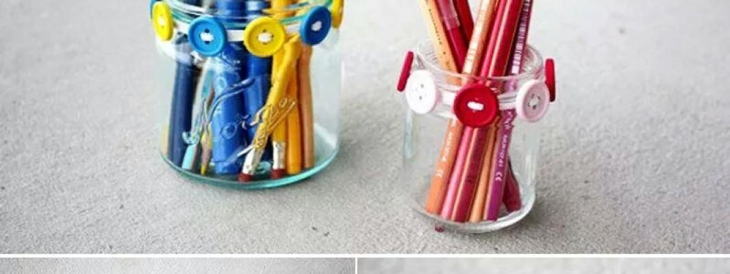 Fazendo um porta canetas de costureira