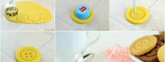 Fazendo um botão de biscoito