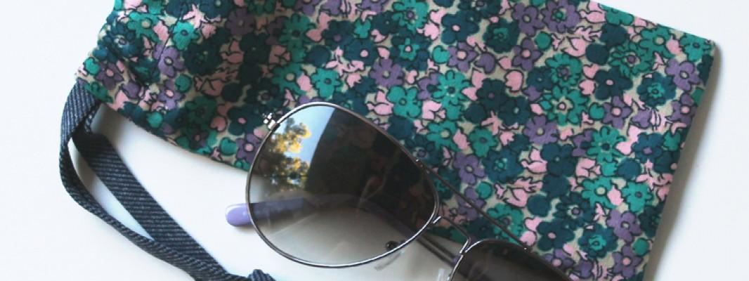 Tutorial – Porta óculos simples