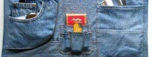 Inspiração – Reciclando jeans velho