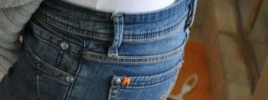 Dica – Ajustando uma calça larga na cintura