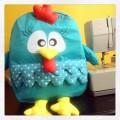Inspiração – Mochila da galinha pintadinha