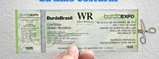 Sorteio – Ingresso para o BurdaExpo 2015