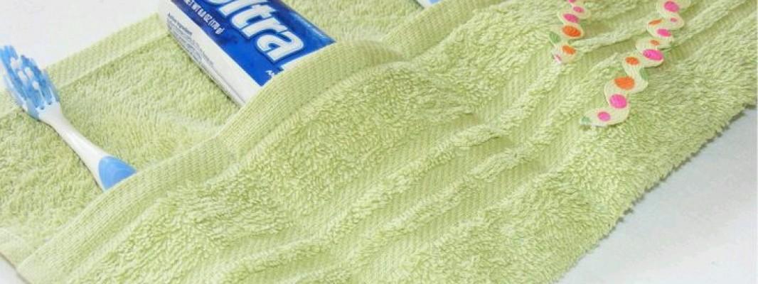 Inspiração – Reciclando toalha velha