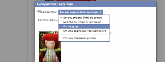 Dica – Como compartilhar achados do Facebook