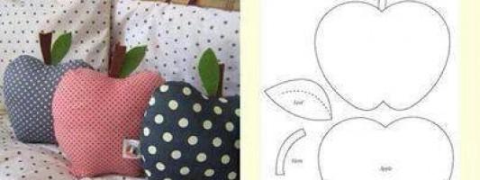 Molde – Travesseiro de maçã