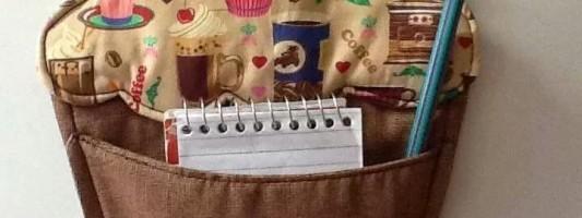 Inspiração – Porta anotações de cupcake