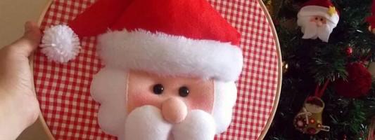 Inspiração – Papai Noel no bastidor