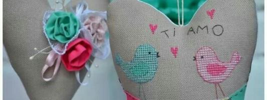 Inspiração – Coração bordado