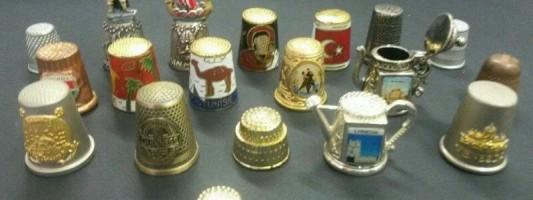 Coleção de dedais
