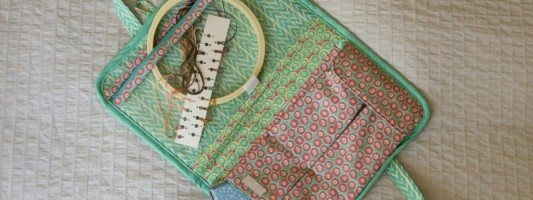 Inspiração – Maleta de bordado