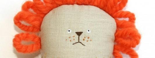 Inspiração – Boneco de leão