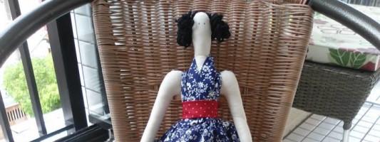 8ª Confraria da Costura: Tilda – por Márcia Roberta Ferreira