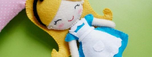 Inspiração – Alice de feltro