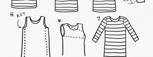 Tutorial – Reduzindo um vestido básico