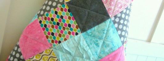 Tutorial – Colcha de patchwork simples