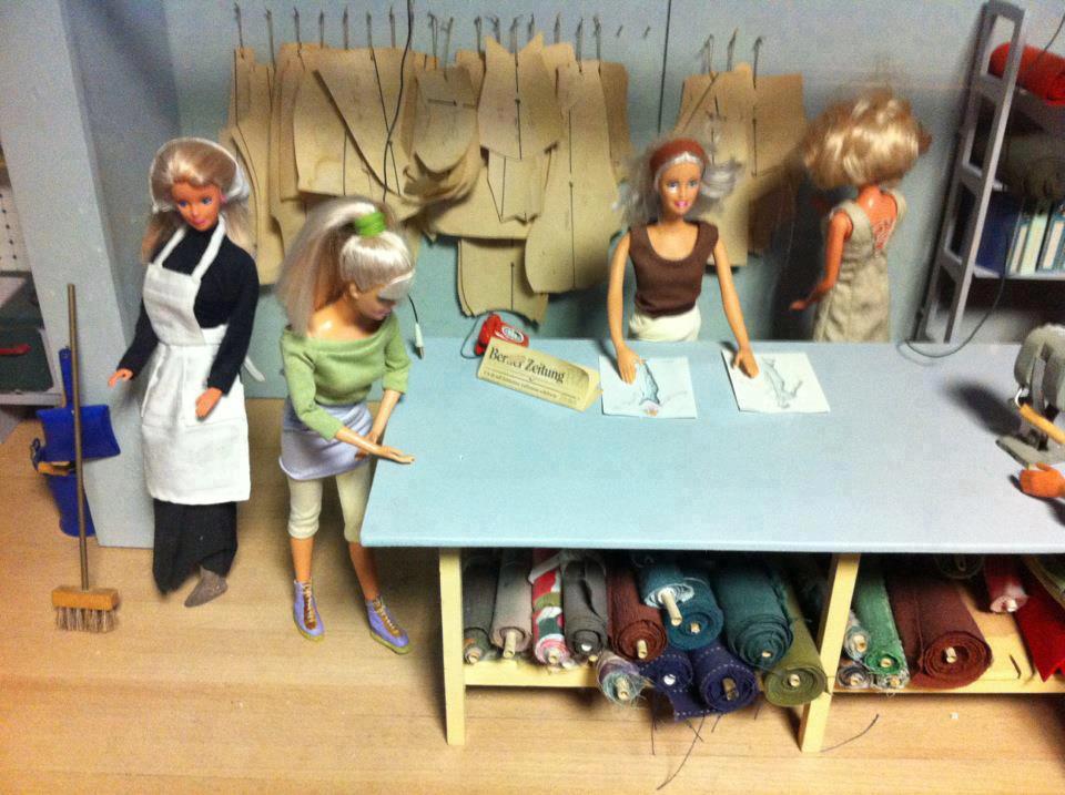 barbie-modelista