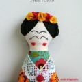 Inspiração – Boneca Frida Kahlo