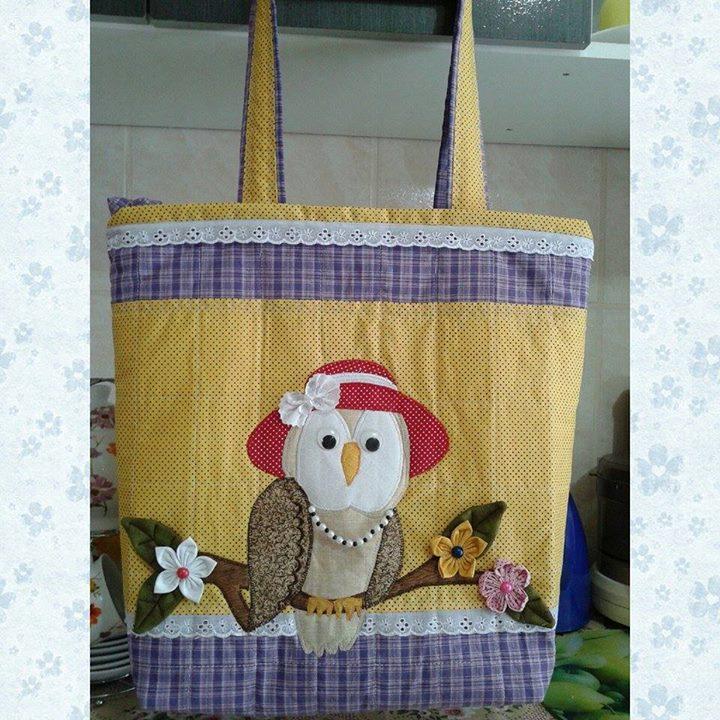 bolsa mamae coruja chic