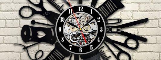 Relógio de parede para o ateliê