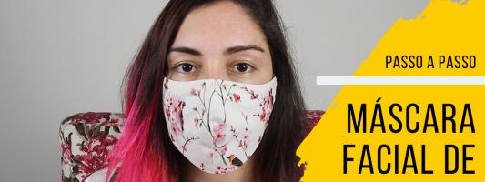 Máscara facial de tecido